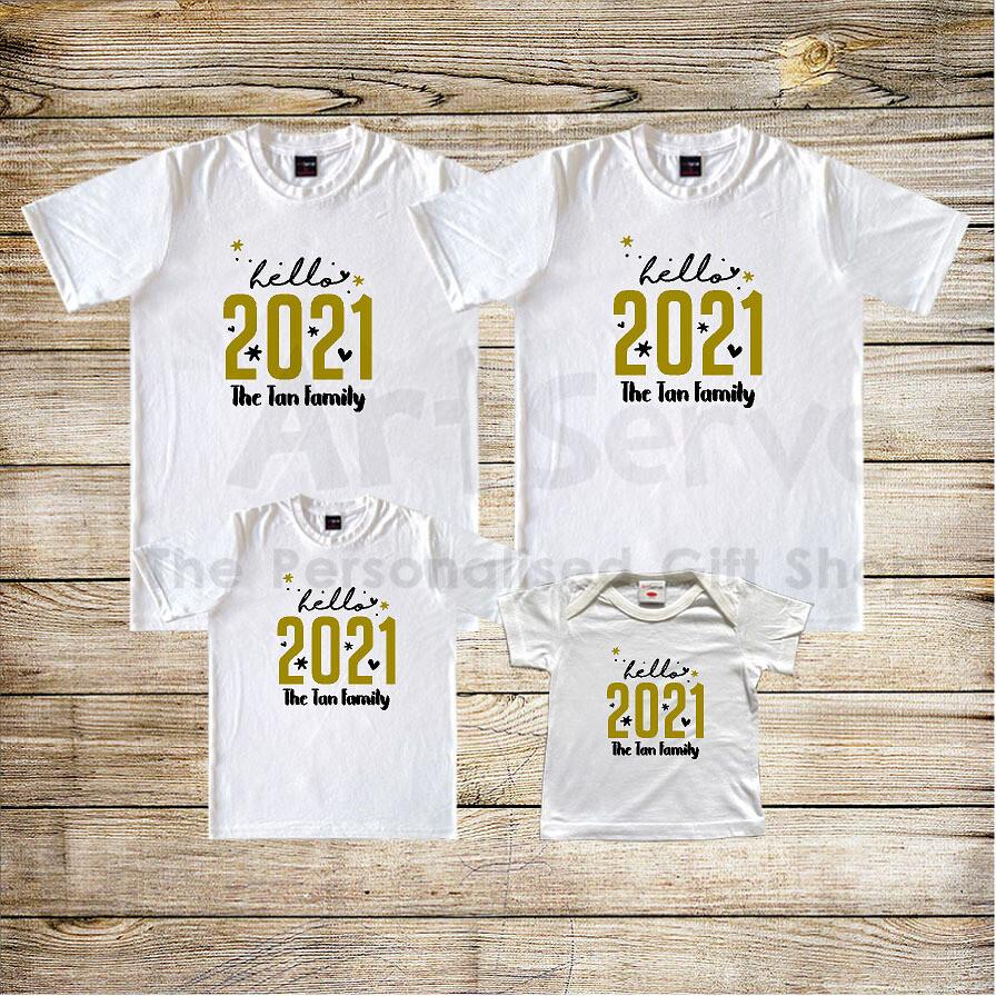 Hello 2021 Tee