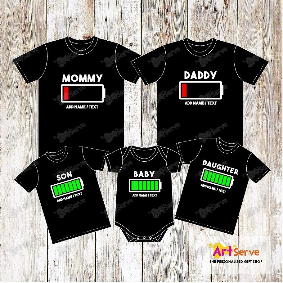 BATTERY family Tshirt