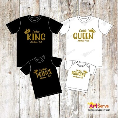 THE ROYAL family tee