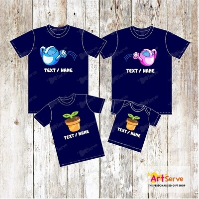Watering Pot Family tee