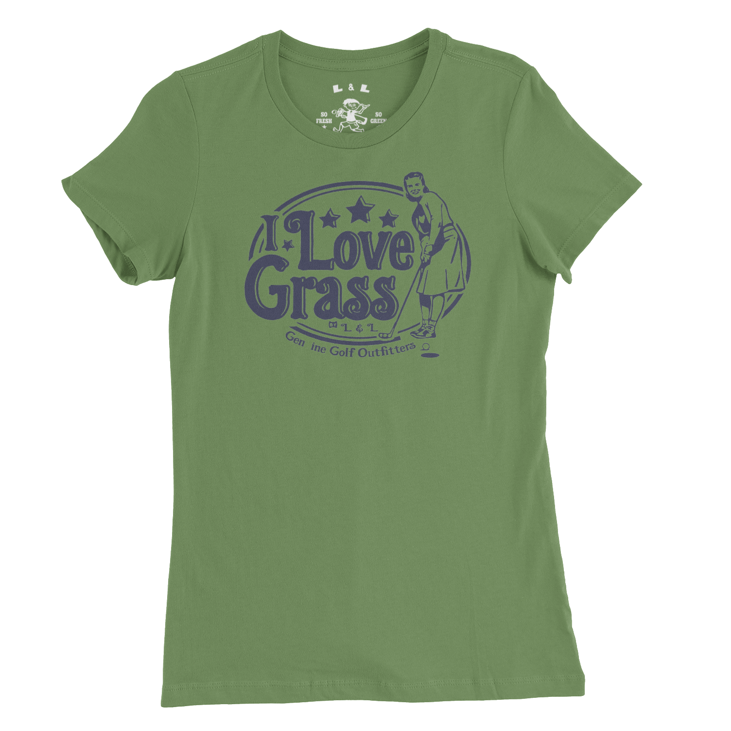 I LOVE GRASS by L&L-WMNS