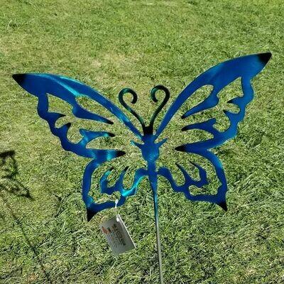 Yard Stake Topper - Butterfly