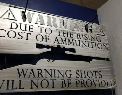 Cost of Ammunition...