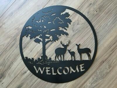 Deer Family Welcome