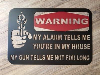 My Alarm Tells me...