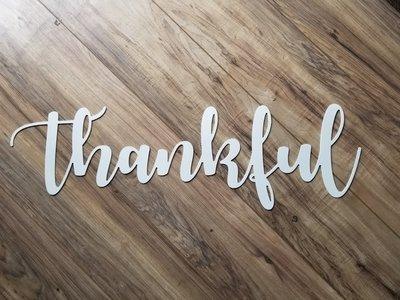 Autumn Thankful