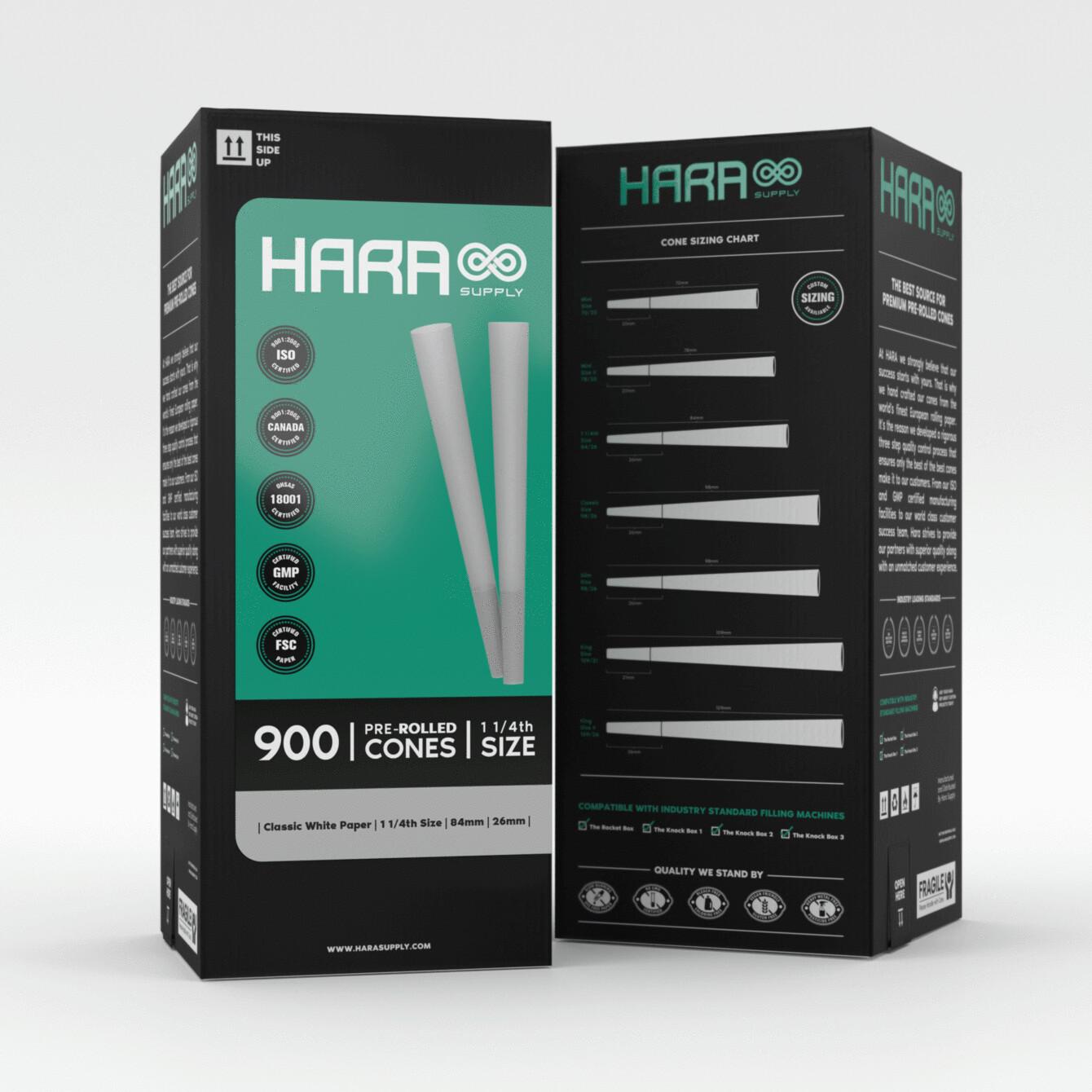 Hara Supply 84/26 mm (900 ct.)