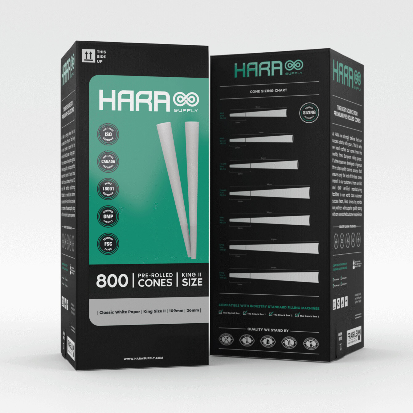 Hara Supply 109/26 mm (800 ct.)