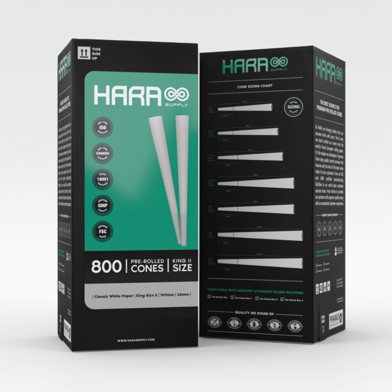Hara Supply 109/26 mm (800 ct.)