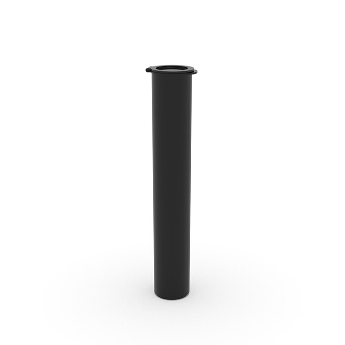 116mm Opaque Black Child Resistant Pre Roll Tube [1 CASE = 1,000)