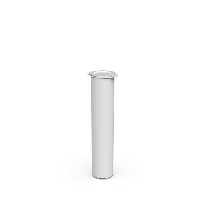 90 mm Opaque White Child Resistant Pre Roll Tube [1 CASE = 1,000]