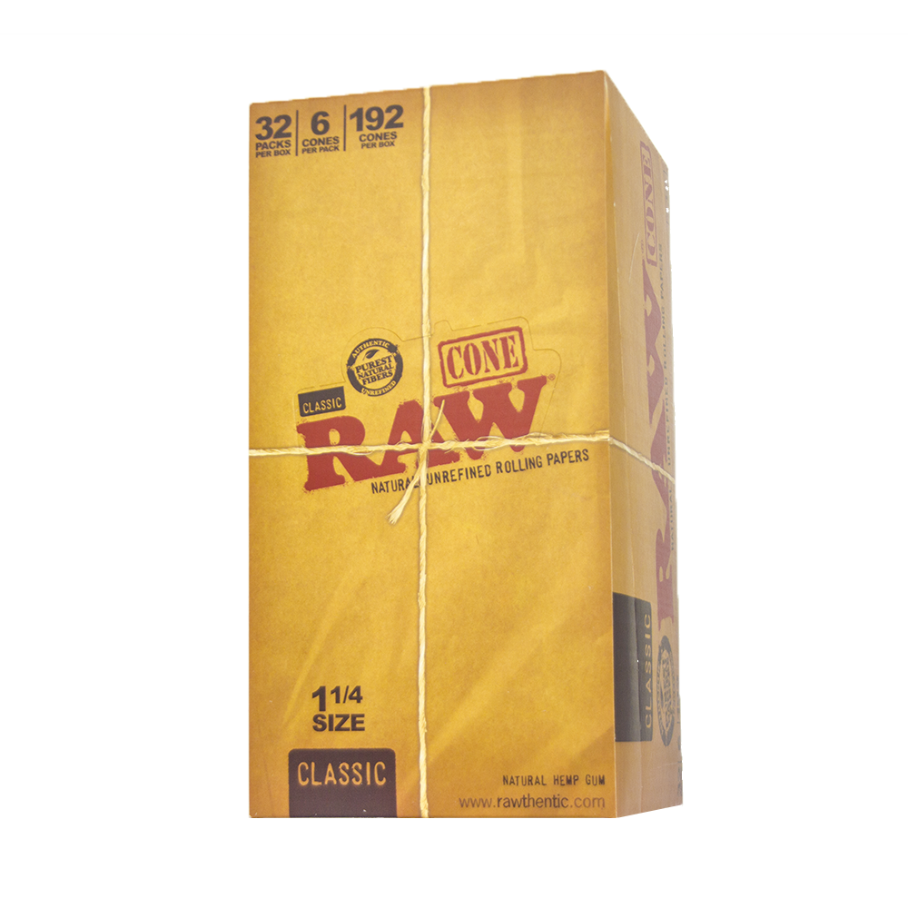 RAW King Sized 109mm Classics (1400 per box)