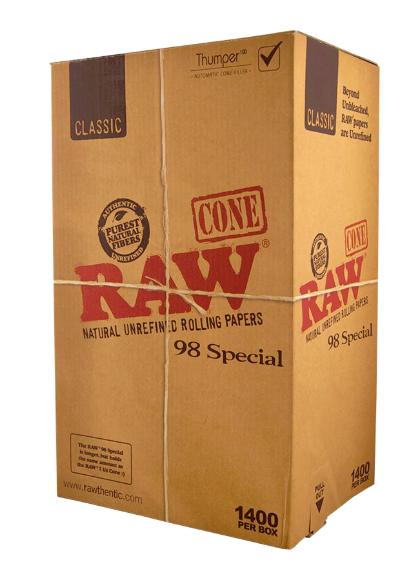 RAW 98 Classic 98mm Specials (1400 per box)