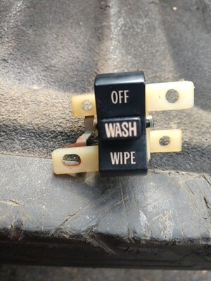 1969 69 GTO original wiper switch
