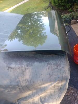 69 pontiac gto original trunk lid