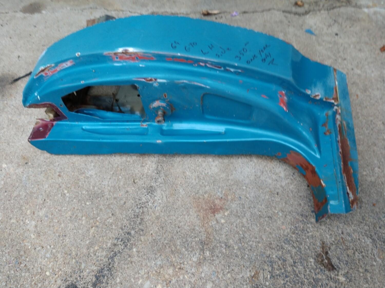 69 pontiac GTO door jamb LH