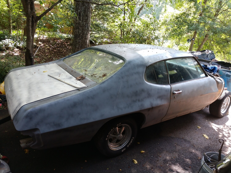 70 Pontiac GTO project car