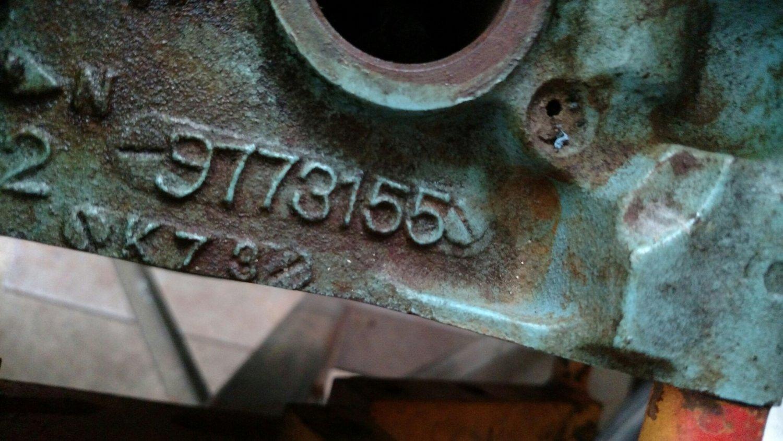 1964 64 Pontiac GTO 389 short block
