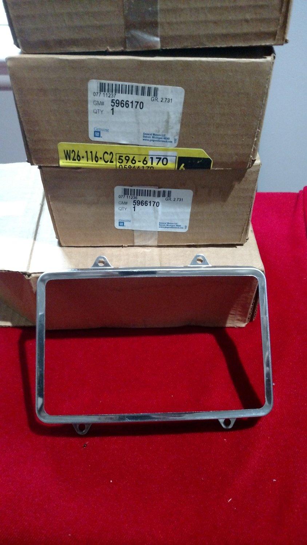 NOS Pontiac trans Am head light Retainers GM 5966170