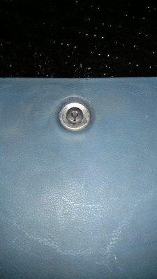 1969 69 Pontiac GTO glovebox lockassy