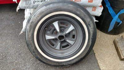 1968 68 Pontiac GTO original spare tire and rim E-78-14