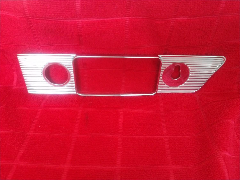 64-65 GTO radio bezel
