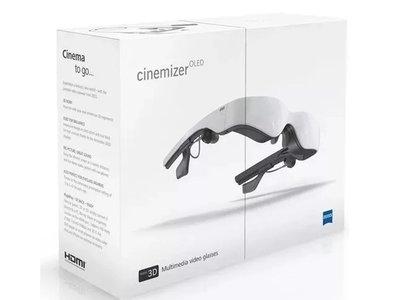 Óculos De Video, Oculos Fpv Cinemizer 3d Calr Zeiss Oled