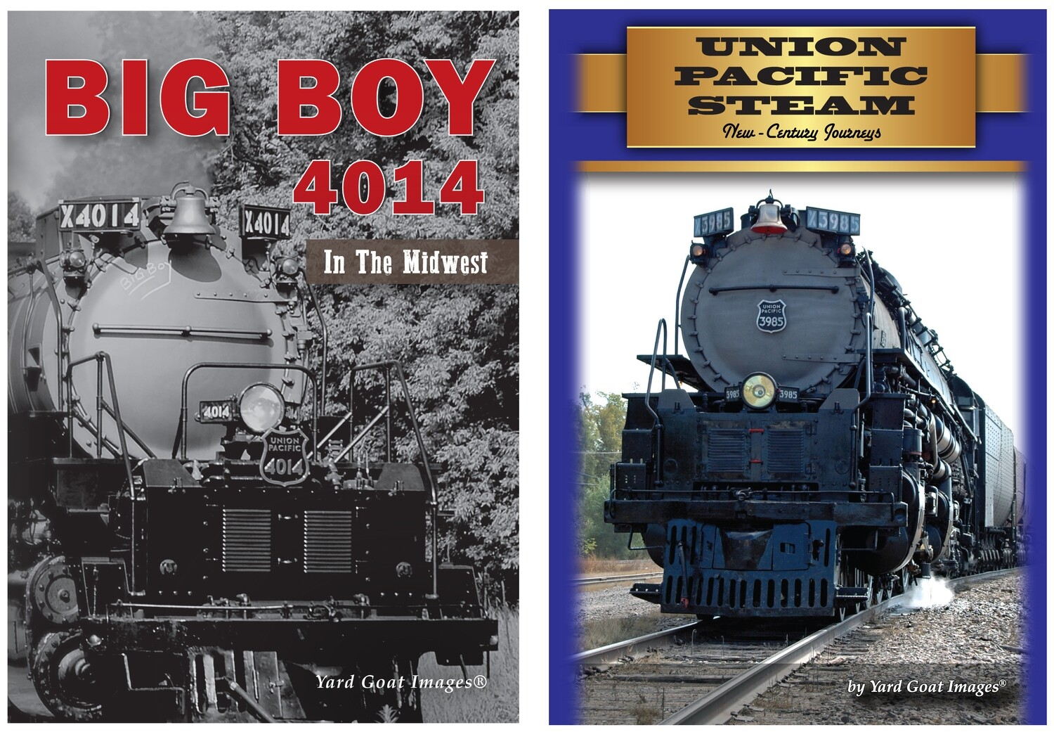 Union Pacific Steam Specials COMBO
