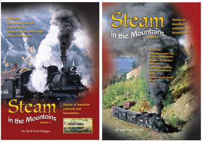 Steam in the Mountains Combo (Volume 1 & 2)