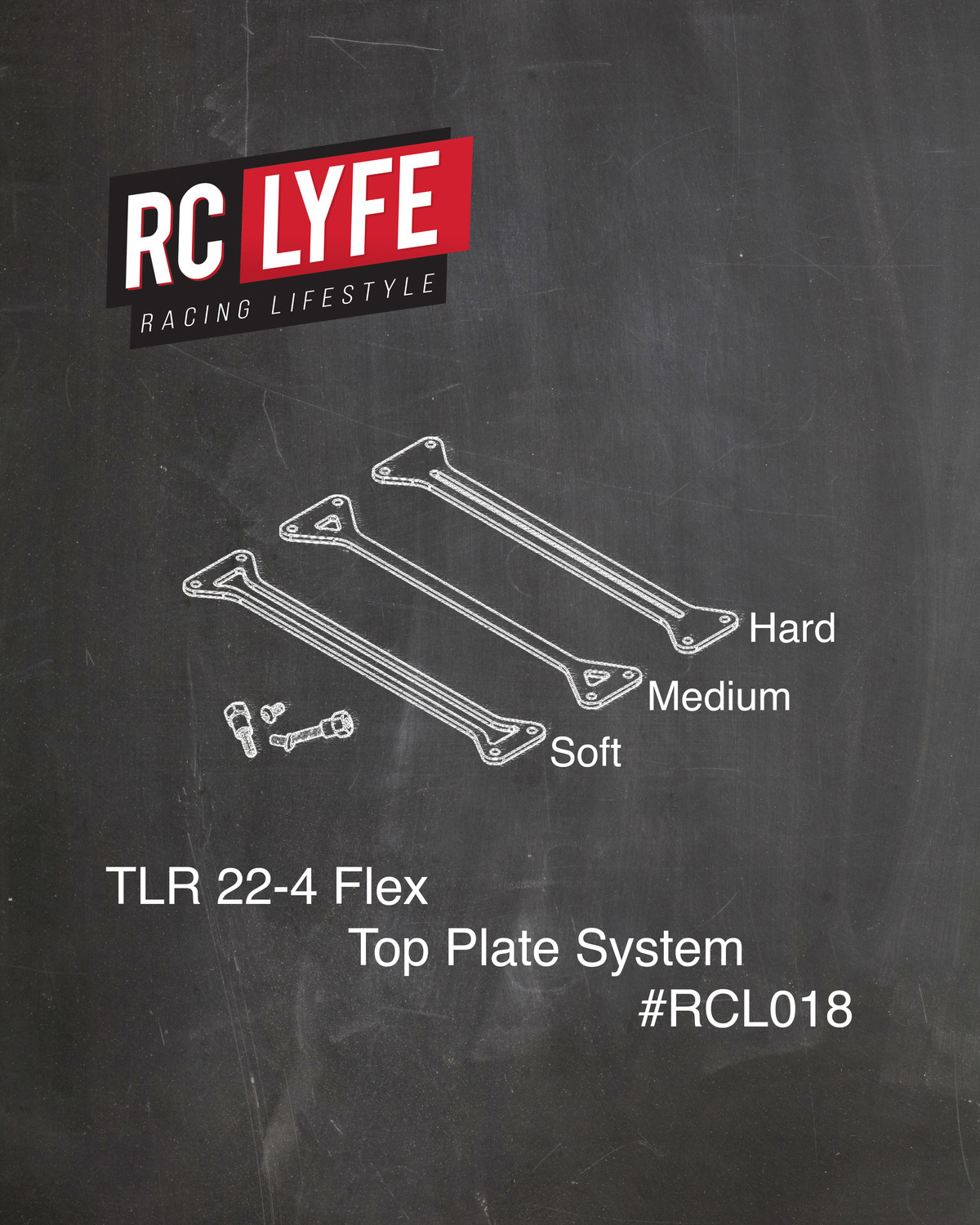 TLR 22-4 Flex Top Plate and Mounting System