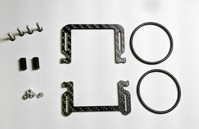 RCLYFE 22SCT In-Line Lipo Band Cradle Strap