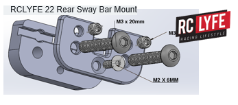 The Stabilizer for 22 Series Rear Sway Bar Mount