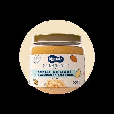 Crema de Maní sin Azúcares Añadidos x 200gr 2176