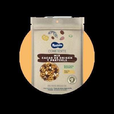 Mix Cacao de Origen y Pretzels x 130 g 2243