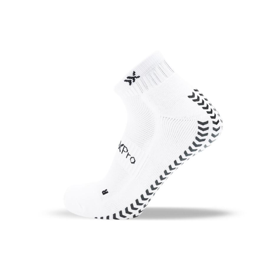 Grip & Anti slip SOXPro LOW CUT - White