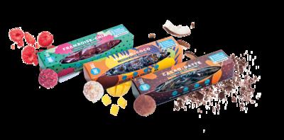 PACK EXPLORATION, Livraison offerte, saveurs au choix (x9 paquets pour 45 Balls)