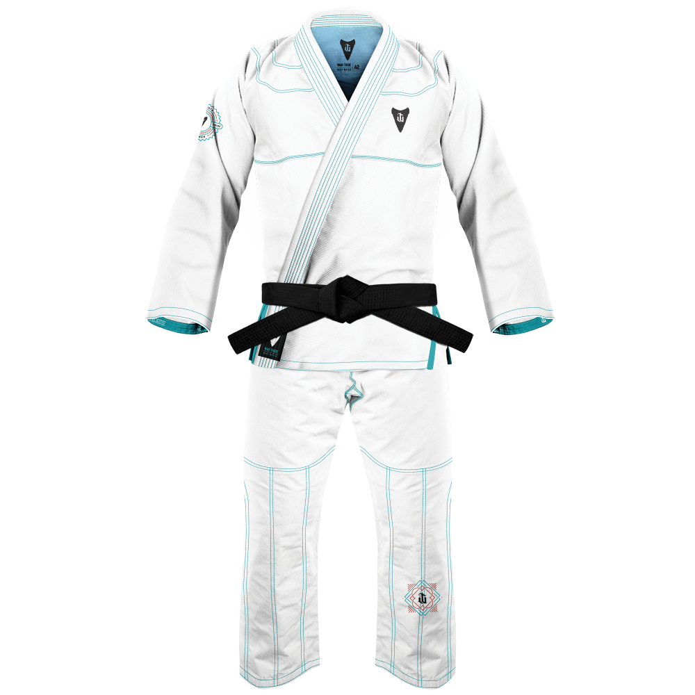 Deep Water BJJ Gi White