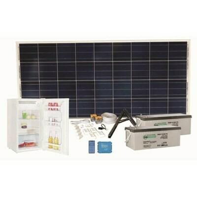 Aurinkosähköjärjestelmä SW OFF-GRID Jääkaappipaketti