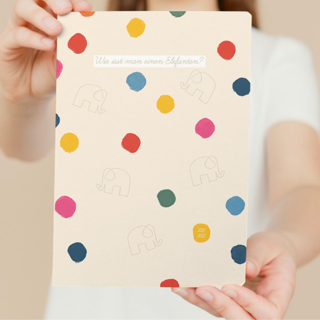 Schülerkalender 2021/2022 [DIN A5 Buchkalender]