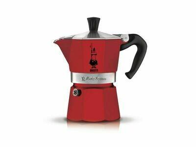 Espressokocher Bialetti Moka Express rot