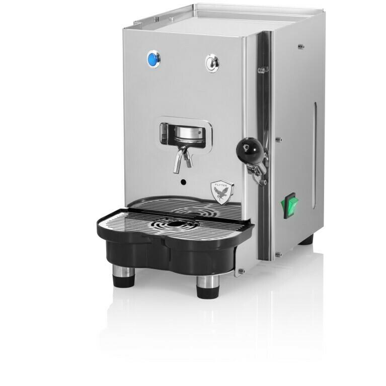 """Flytek Italia Modell """"Steel"""" - Espressomaschine für Pads (E.S.E)"""