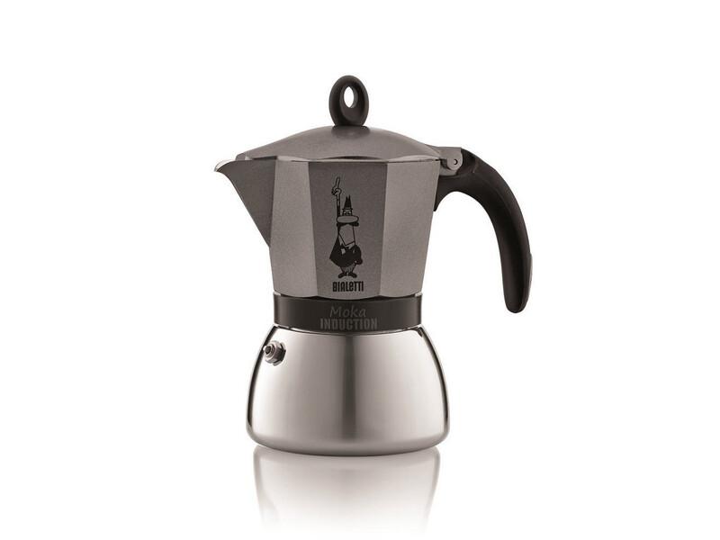 Espressokocher Bialetti Moka Induktion Anthrazit