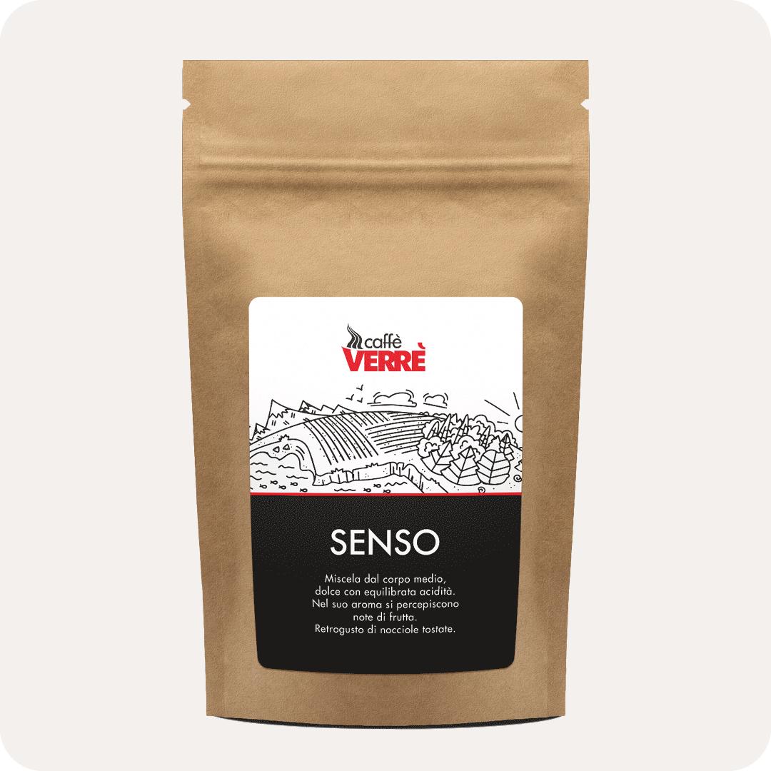 """Espresso (gemahlen) Verrè Miscela """"Senso"""" 250g"""