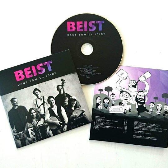 DANS SOM EN IDIOT CD