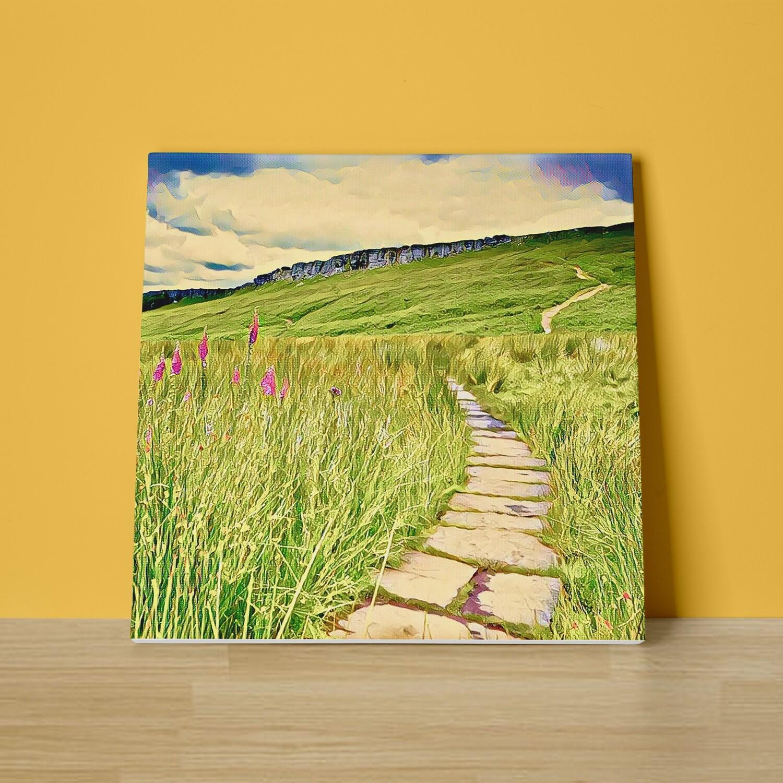 Stanage Edge Canvas Print