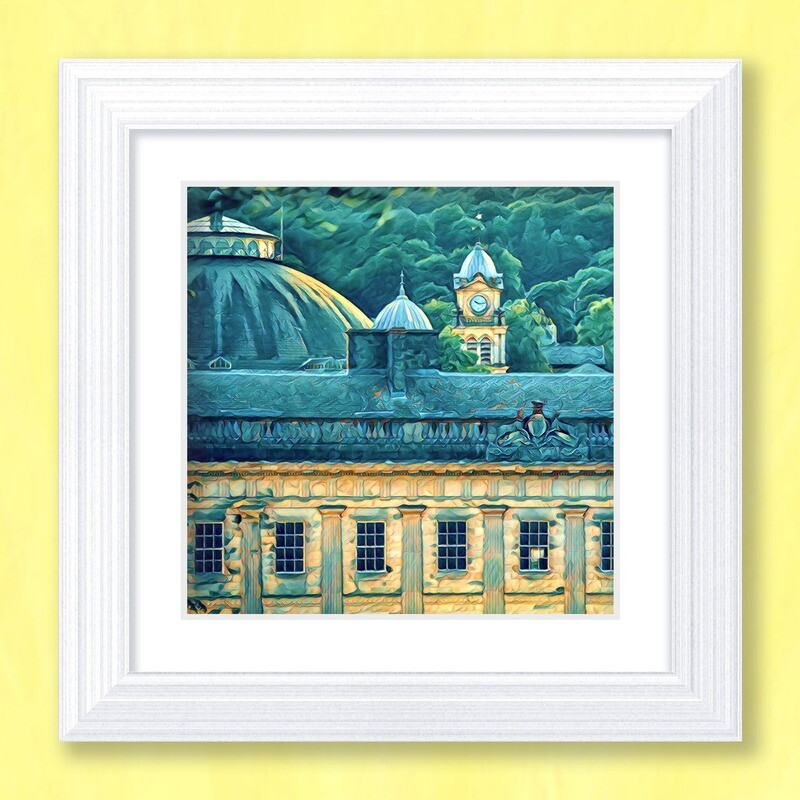 Buxton Skyline Art Print