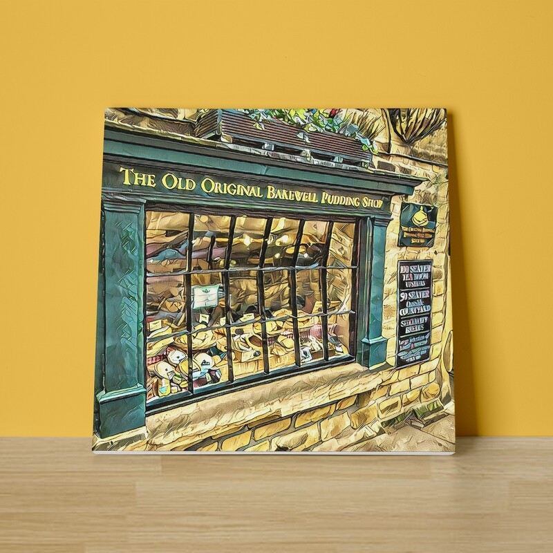 Bakewell Pudding Shop Canvas Print