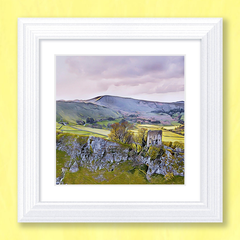 Peveril Castle Art Print