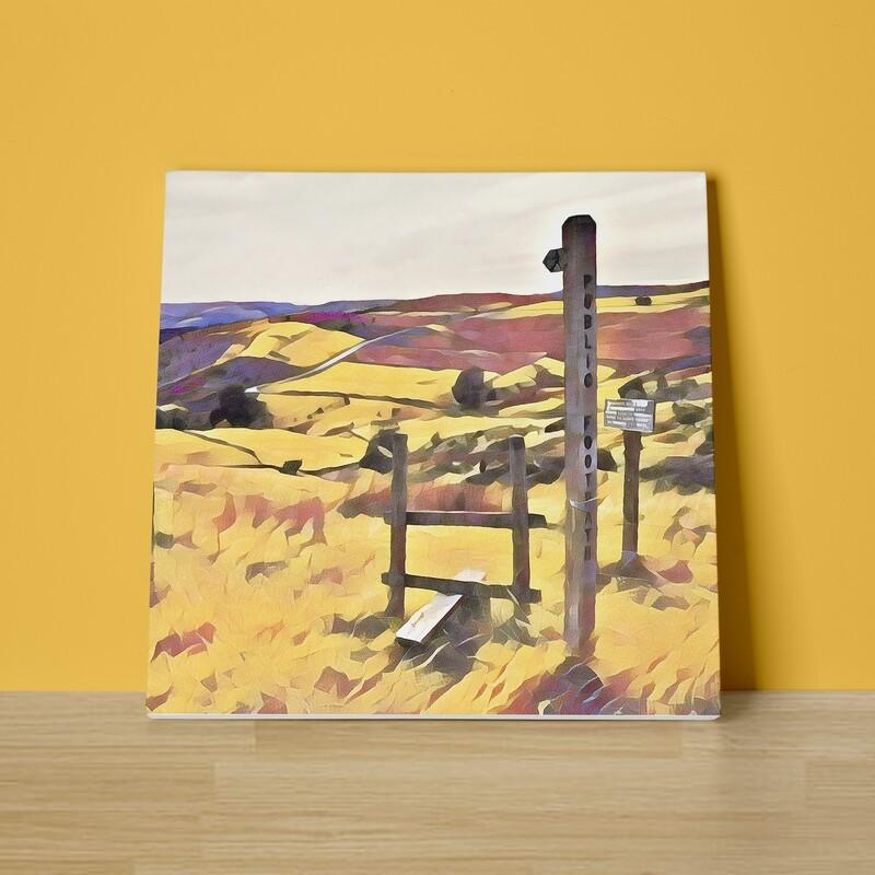 The Path Ahead Canvas Print
