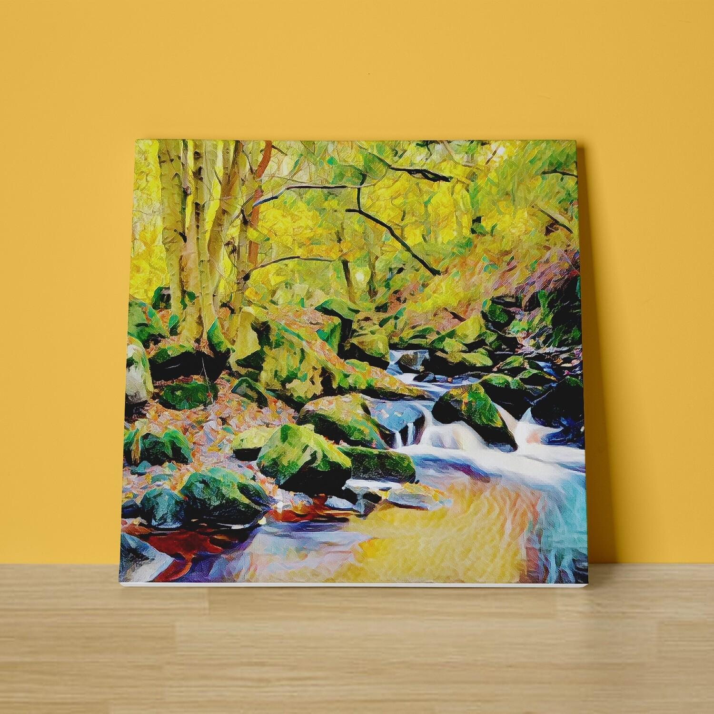 Padley Gorge Canvas Print